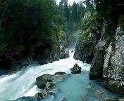 Slow motion of waterfall <br/>#waterfall #WaterfallVideos #AmazingWaterfall