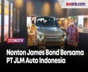 Screening Film James Bond 007: No Time to Die bersama PT JLM Auto Indonesia<br/><br/>Selengkapnya dalam video ini.<br/><br/>Link terkait: <br/>https://kalbar.suara.com/read/2021/09/24/230757/pt-jlm-auto-indonesia-perkenalkan-live-configurator-untuk-modifikasi-virtual <br/><br/>#Otomotif #JLMAutoIndonesia <br/><br/>Video Editor: Galih Fajar <br/>===================================<br/>Homepage: https://www.suara.com<br/>Facebook Fan Page: https://www.facebook.com/suaradotcom<br/>Instagram:https://www.instagram.com/suaradotcom/<br/>Twitter:https://twitter.com/suaradotcomsuaradotcom<br/><br/>