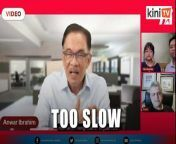 """Opposition leader Anwar Ibrahim has urged Education Minister Radzi Jidin to take decisive action to put a stop to period spot checks and rape culture in schools.<br/><br/>It has been 14 days since Malaysiakini published accounts of women who said they were groped in school to physically prove they were on their periods.<br/><br/>It has been 12 days since Ain Husniza Saiful Nizam called out a male teacher for """"jokingly"""" telling boys in her high school class to target adults if they wanted to rape women.<br/><br/>Speaking at an online forum with Ain and political cartoonist Zunar this evening, Anwar questioned why no action had been taken against the male teacher in question."""