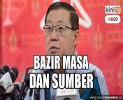 Lim Guan Eng menyifatkan siasatan terhadap ahli-ahli Parlimen pembangkang berhubung isu perarakan ke Parlimen sebagai pembaziran masa dan sumber. <br/><br/>Ahli Parlimen Bagan itu berkata demikian sebelum dipanggil memberi keterangan di Ibu Pejabat Polis Daerah Timur Laut, Pulau Pinang pada jam 1 petang tadi. <br/><br/>source<br/>https://fb.watch/7jcM2qvoq3/