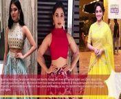 Learn the high neck blouse and lehenga like Malavika Mohanan, Tamannaah Bhatia and Keerthy Suresh